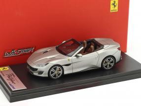 Ferrari Portofino Open Top Baujahr 2017 aluminium 1:43 LookSmart