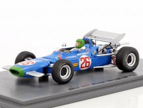 Henri Pescarolo Matra MS7 #26 Winner German GP formula 2 1969 1:43 Spark