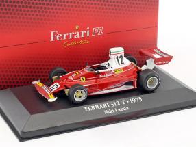 Niki Lauda Ferrari 312T #12 Weltmeister Formel 1 1975 1:43 Atlas