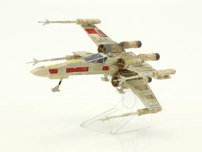 X-Wing Starfighter Red Five Star Wars Episode IV A New Hope (1977) silber / rot HotWheels Elite
