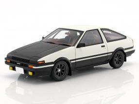 Toyota Sprinter Trueno (AE86) Project D Final Version weiß / schwarz 1:18 AUTOart