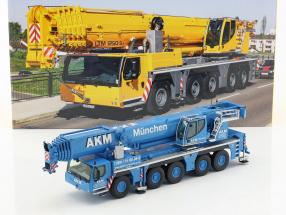 Liebherr LTM 1250-5.1 Mobilkran AKM blau / weiß 1:50 NZG