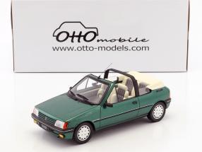 Peugeot 205 Cabriolet Roland Garros Baujahr 1989 grün metallic 1:18 OttOmobile