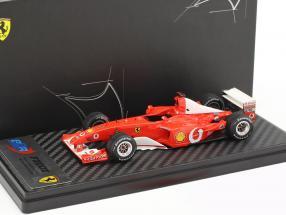 Michael Schumacher Ferrari F2002 Sieger Frankreich GP Weltmeister Formel 1 2002 1:43 BBR
