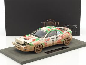 Toyota Celica GT4 Dirty Vision #3 Winner Rallye Monte Carlo 1993 Auriol, Occelli 1:18 TopMarques