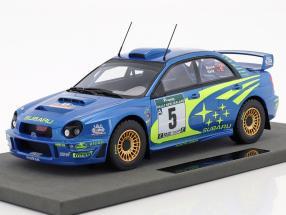 Subaru Impreza S7 WRC #5 Winner Rallye Neuseeland 2001 Burns, Reid 1:18 TopMarques