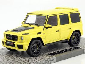 Brabus 850 6.0 Biturbo Widestar auf Basis Mercedes-Benz AMG G63 Baujahr 2016 gelb 1:18 Minichamps