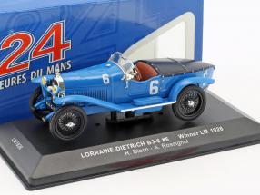 Lorraine-Dietrich B3-6 #6 Winner 24h LeMans 1926 Bloch, Rossignol 1:43 Ixo