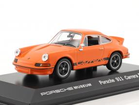 Porsche 911 Carrera RS Year 1973 orange 1:43 Welly