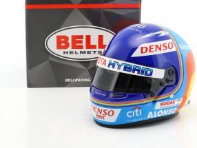 Fernando Alonso Toyota Gazoo Racing Winner 24h LeMans 2018 Helm 1:2 Bell