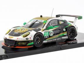 Porsche 911 GT3 R #28 winner GTD class 24h Daytona 2017 Alegra Motorsports 1:43 Ixo