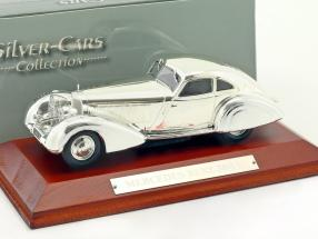 Mercedes Benz 500K Baujahr 1935 chrome 1:43 Atlas