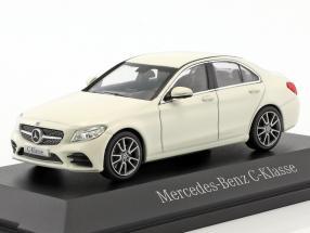 Mercedes-Benz C-Class MOPF W205 designo diamond white 1:43 Norev