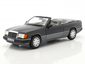 Mercedes-Benz 300 CE-24 (A124) Cabriolet blue black metallic 1:18 Norev