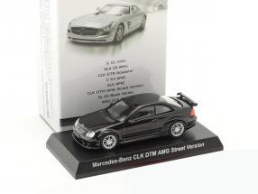 Mercedes-Benz CLK DTM AMG Street Version schwarz 1:64 Kyosho