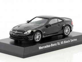 Mercedes-Benz SL 65 Black Series black 1:64 Kyosho