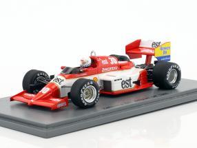 Christian Danner Zakspeed 841 #30 Belgien GP Formel 1 1985 1:43 Spark