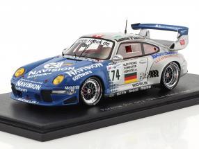 Porsche 911 GT2 #74 10th 24h LeMans 1997 Ahrlé, Pilgrim, Eichmann 1:43 Spark