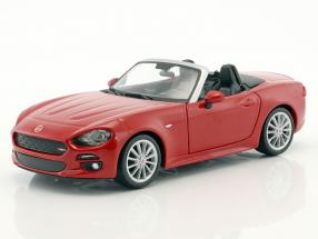 Fiat 124 Spider red 1:24 Bburago