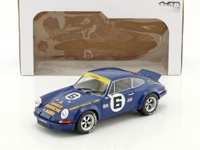 Porsche 911 Carrera RSR #6 24h Daytona 1973 Donohue, Follmer 1:18 Solido