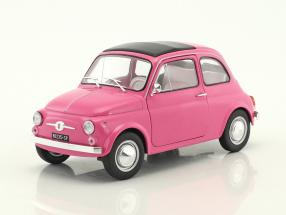 Fiat 500 L Italia Baujahr 1969 rosa 1:18 Solido