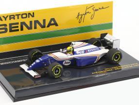 Ayrton Senna Williams FW16 #2 Brazil GP formula 1 1994 1:43 Minichamps