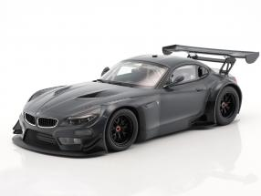 BMW Z4 GT3 E89 Carbon Decoration Baujahr 2015 dunkelgrau 1:18 Minichamps