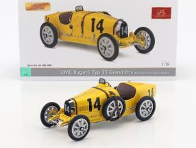 Bugatti Typ 35 Grand Prix #14 Nation Colour Project Belgien 1:18 CMC