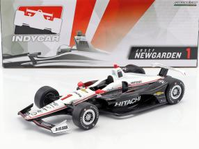 Josef Newgarden Chevrolet #1 IndyCar Series 2018 Team Penske (Hitachi) 1:18 Greenlight