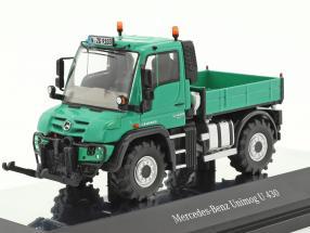 Mercedes-Benz Unimog U 400 Agrar grün 1:50 NZG