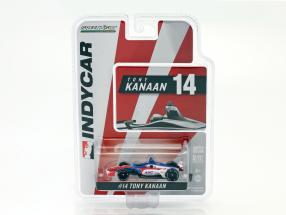 Tony Kanaan Chevrolet #14 IndyCar Series 2018 A. J. Foyt Enterprises 1:64 Greenlight