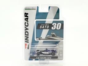 Takuma Sato Honda #30 IndyCar Series 2018 Rahal Letterman Lanigan Racing 1:64 Greenlight