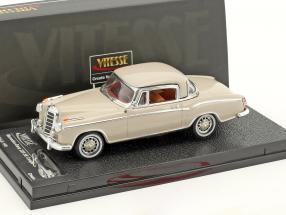 Mercedes-Benz 220 SE coupe year 1959 cream 1:43 Vitesse