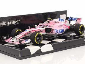 Esteban Ocon Force India VJM11 #31 Showcar Formel 1 2018 1:43 Minichamps