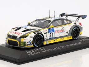 BMW M6 GT3 #23 24h Nürburgring 2016 Martin, Werner, Eng, Sims 1:43 Minichamps
