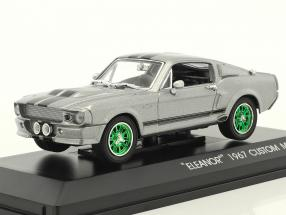 Ford Mustang Shelby GT500E Eleanor Gone in 60 seconds gray / green 1:43 Greenlight
