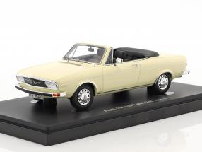 Audi 100 LS Cabriolet year 1969 white 1:43 AutoCult