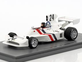 James Hunt Hesketh 308 #24 3rd Sweden GP formula 1 1974 1:43 Spark