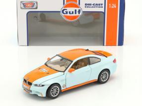 BMW M3 Coupe Baujahr 2015 gulf blau / orange 1:24 MotorMax