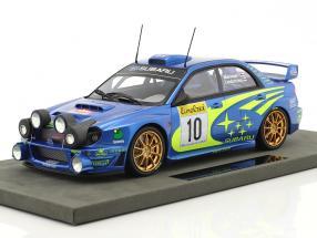 Subaru Impreza S7 Night Vers. #10 Winner Rallye Monte Carlo 2002 Mäkinen, Lindström 1:18 TopMarques