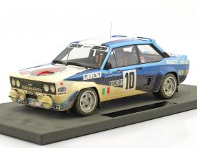 Fiat 131 Abarth Dirty Version #10 Winner Rallye Monte Carlo 1980 Röhrl, Geistdörfer 1:18 TopMarques