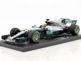 L. Hamilton Mercedes F1 W08 EQ Power+ #44 Winner China GP Weltmeister Formel 1 2017 1:18 Minichamps