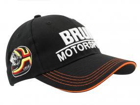 Stefan Bellof Cap Brun Motorsport #1 Norisring 1984 schwarz / weiß / orange