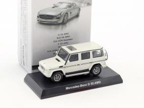 Mercedes-Benz G 55 AMG white 1:64 Kyosho