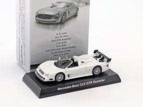 Mercedes-Benz CLK GTR Roadster white 1:64 Kyosho