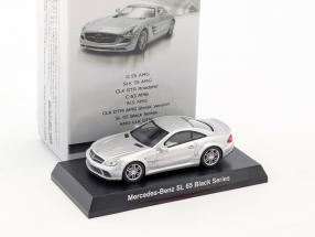 Mercedes-Benz SL 65 Black Series silber metallic 1:64 Kyosho