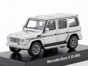 Mercedes-Benz G 55 AMG silver metallic 1:64 Kyosho
