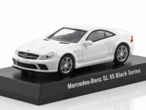 Mercedes-Benz SL 65 Black Series White 1:64 Kyosho