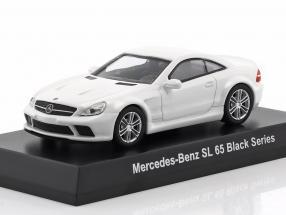 Mercedes-Benz SL 65 Black Series weiß 1:64 Kyosho