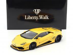 Lamborghini Huracan Liberty Walk LB-Works gelb metallic 1:18 AUTOart